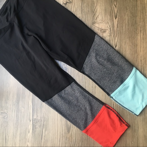 cef292314dc5a3 lululemon athletica Pants | Lululemon Color Block Leggings | Poshmark